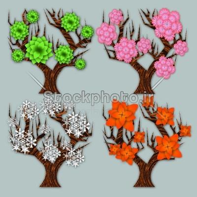 عکس فصل ها برای تقویم