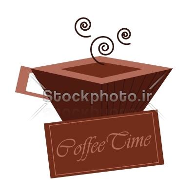 استوک فوتو خرید و فروش عکس و گرافیکفنجان فنجان مناسب برای طراحی آرم یا لوگو کافی شاپ یا رستوران